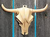 Pack of 4 - Steer Head Wall Decorations - Great Western Cowboy Party Loot Bag Fillers