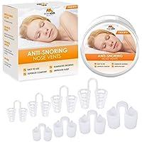 Anti Schnarch Schnarchstopper - Packung mit 8 aus medizinischen Silikon Anti-Schnarch Nasenklammer - Mittel gegen... preisvergleich bei billige-tabletten.eu