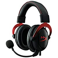 Kingston HyperX Cloud II Headset, Red - KHX-HSCP-RD