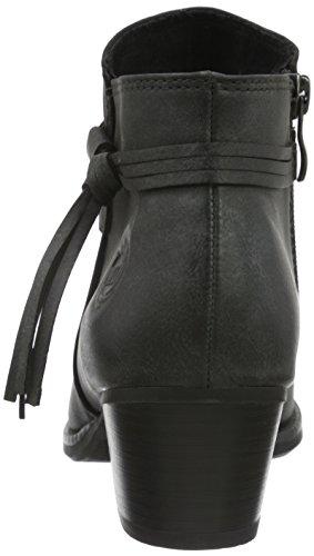 Marco Tozzi 25312, Bottes Classiques Femme Noir (BLACK ANT.COMB 096)