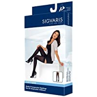 Sigvaris Women's Cotton Thigh High with Grip Top 20-30mmHg Closed Toe Long Length, Large Long, Crispa by Sigvaris preisvergleich bei billige-tabletten.eu
