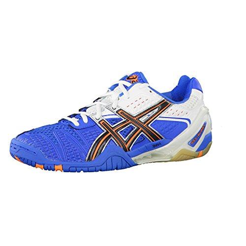 Asics Gel di Blast 5interno piatto scarpa Blau