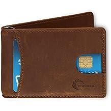 Amazon.it  Portafogli con protezione RFID - Blu ab2385cfbcb