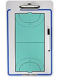 Softee - CARPETA TACTICA PVC F. SALA Y BALONMANO - 4664 - Tableau tactiques de football/ handball - Unisex - Taille: Unique - Blanc / Turquoise / Noir / Bleu marine