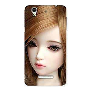 Enticing Lovely Doll Multicolor Back Case Cover for YU Yureka Plus