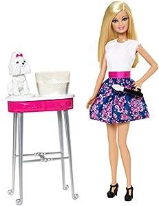 Barbie Color Me Cute Puppy Play Set - muñecas (Chica, Multi, Doll playset, Doll Pet, Femenino, Perro)