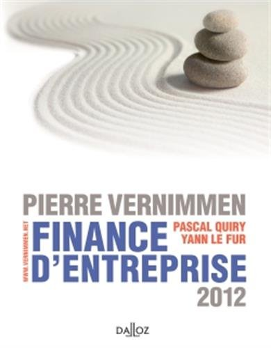 Finance d'entreprise 2012 - 10e d.: Dalloz Gestion