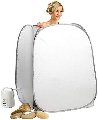 Mostromania - sauna portatile - bagno turco in casa - accessorio benessere - accessori spa - kit completo per sauna - idee regalo per lui e per lei - regali di natale