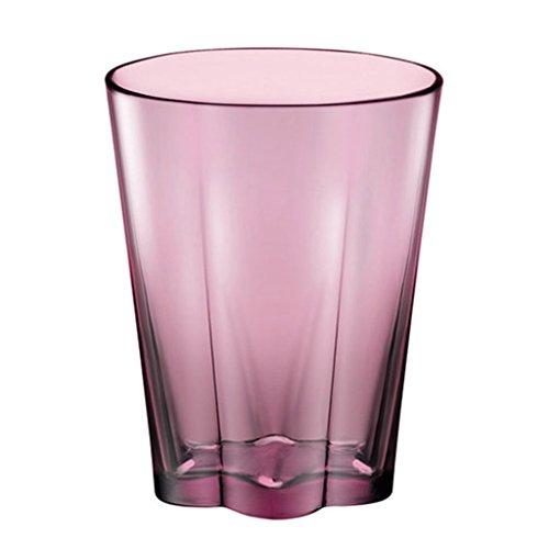 Tasses Mugs et soucoupes Tasses à Expresso Coupe Tumbler 10 oz Coupe créative Coupe du Lait Thé Coupe du Citron Couleur sans Plomb Petit déjeuner en Verre Coupe (Color : Purple)