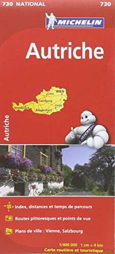 Carte NATIONAL Autriche par Collectif Michelin