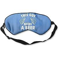 This Guy Needs A Beer 99% Eyeshade Blinders Sleeping Eye Patch Eye Mask Blindfold For Travel Insomnia Meditation preisvergleich bei billige-tabletten.eu