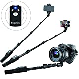 Professional Bluetooth Selfie Stick Fugetek für iPhone 6S/6S Plus/6/6 Plus, iPhone 4 5 5S 5 C, Android, GoPro, kompakt)