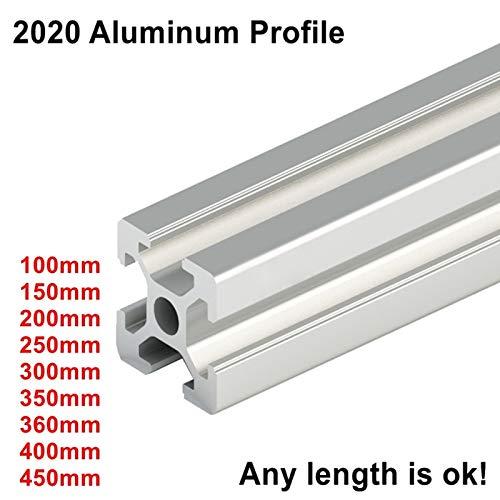 Ochoos Industrial Euro Standard 3D Drucker Rahmen Oxid eloxiertes Aluminium Extrusion Profil 2020 Serie - Serie Aluminium-rahmen