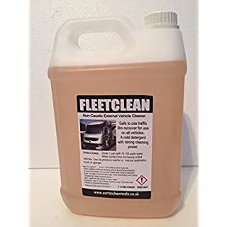 Aaron Chemicals 5L Traffic film remover TFR Fleetclean Non Caustic (courier next day deliver - £3 extra!) (2)