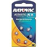 Prothèses auditives rAYOVAC akustic-cellules spéciales «rAYOVAC aide auditive bATT. s312 4607 (encre de contenu la livraison :  2)