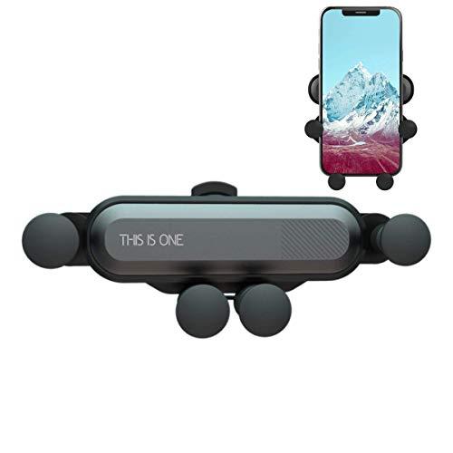 LEEBA Autotelefonhalterung,2019 Mount Handyhalter, Air Vent Cradle für Telefon Xs Max XR X 7 8 Plus, Galaxy S10 S10 + S10e S9 S9 + und mehr (Grau)