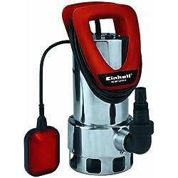 Einhell 4170670 Bomba de Agua sucias, 1050 W, 230 V, Rojo, 46x40x45 cm