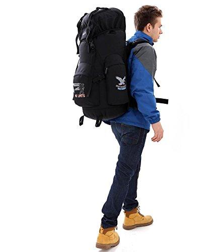 Camping & Outdoor RucksäCke Und Taschen Unisex WanderrucksäCke Black