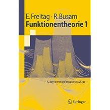 Funktionentheorie 1 (Springer-Lehrbuch) (German Edition)