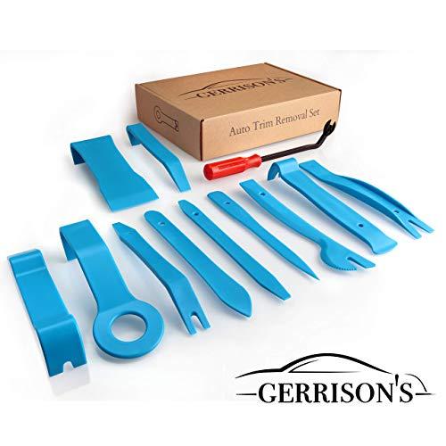 Gerrisons 12 Teile Profi Hebelwerkzeug Set - hochfeste Ausführung - Werkzeug zur Demontage der Auto Innenausstattung