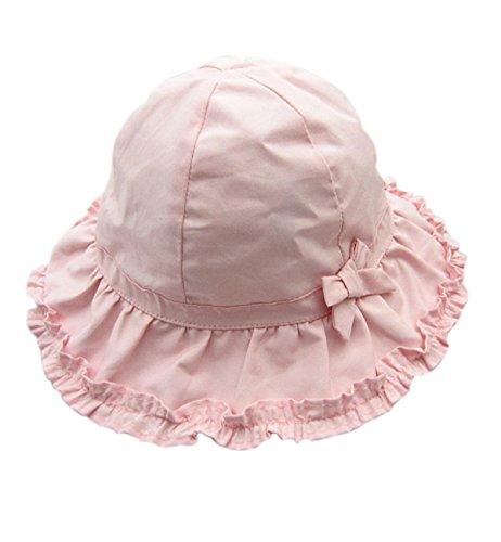 Sumolux Schleife Sommer Frühling Sonnenhut Kinderhut Strandhut Hut Mütze für Kinder Baby Mädchen