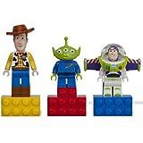 LEGO Toy Story: Magnet Set - Buzz Lightyear. Woody. Alien
