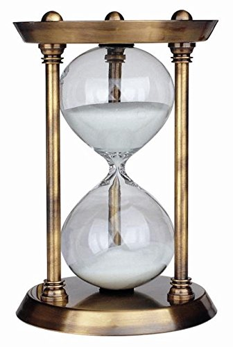 koch-classic-11145-hourglass-30-minutes-brass