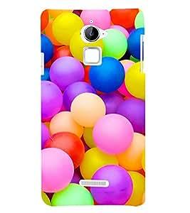 Colourful Balls 3D Hard Polycarbonate Designer Back Case Cover for Coolpad Note 3 Lite :: Coolpad Note 3 Lite Dual SIM