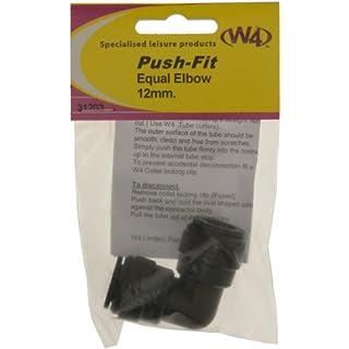 W4 Equal Elbow Connector - Black