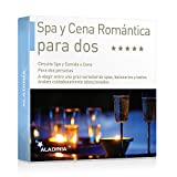 ALADINIA Box Caja Regalo Pack SPA y Cena Romántica para Dos con
