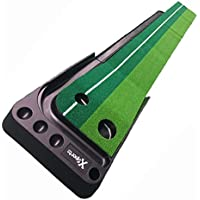 Leisure Pursuits Golf Putting Training Aid Indoor Portable Green Practice Mat Trainer 3m Long