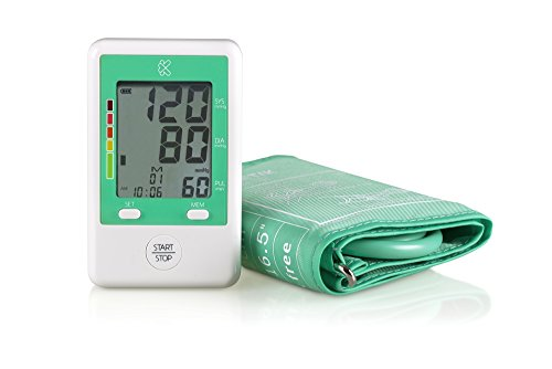 Kinetik Wellbeing Automatic Upper Arm Blood Pressure Monitor, Fast Measurement with Quick Reference Indicator