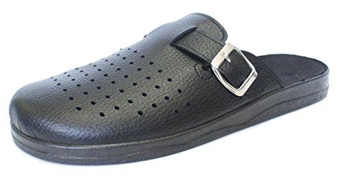 Revise Schuhe für die Arbeit - Rutschfeste Sohle - Komfortabel und Langlebig – Schwarz Gr. 40
