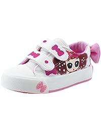 GEMVIE Zapatos Niñas con Suela Primavera Estampado Chica Adornado Lazo