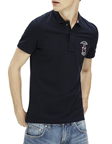 Celio Herren Poloshirt Geawsome Bleu (Navy Blue 02)