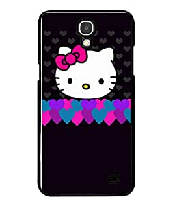 Fuson Designer Back Case Cover for Samsung Galaxy Mega 2 SM-G750H (Hearts Hello Kitty Cat Pink Love )