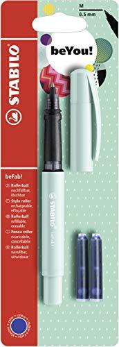 Tintenroller - STABILO beFab! Pastel in türkis