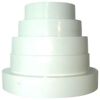 r duction de ventilation universelle en pvc 150 125 120 100 80 mm jardin. Black Bedroom Furniture Sets. Home Design Ideas