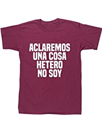 HippoWarehouse Aclaremos una cosa hetero no soy camiseta manga corta unisex