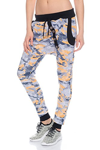 Crazy Age - Pantalon de sport - Femme CAM Orange