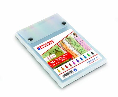 edding-4600-penna-per-ritoccare-tessili-confezione-da-10-assortiti