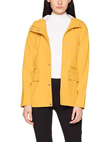 Damen Yellow Regen-mantel (ONLY Damen Regenmantel 15149322, Gelb (Yolk Yellow Yolk Yellow), 42 (Herstellergröße: XL))