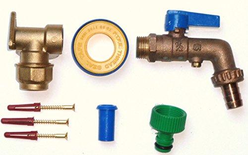 kaltem Wasser 3//4 MDPE//PE f/ür 32 mm BSP 2,5 m3//h Wasserz/ähler Flow