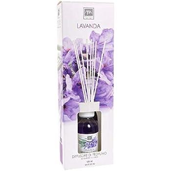 GIRM®® - ME16453 Diffusore d'Essenza con Bastoncini in Cotone Aroma Lavanda ml 125