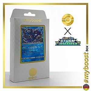 Kyogre 46/168 Holo Reverse - #myboost X Sonne & Mond 7 Sturm Am Firmament - Box de 10 Cartas Pokémon Alemán
