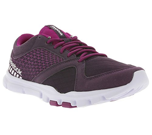 Reebok Yourflex Trainette 7.0, Chaussures de Fitness femme Rouge