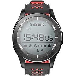 NO.1 F3 Deportes SmartWatch dial Giratorio del Reloj Impermeable Reloj podómetro
