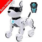Remote Control Robot Dog Toy - Smart Mini Pet Dancing to Beat Puppy