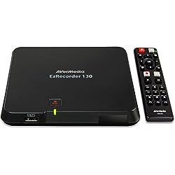 AVerMedia EzRecorder ER130 - Enregistreur Vidéo HD 1080p Multi-Usage (HDMI, USB 2.0)