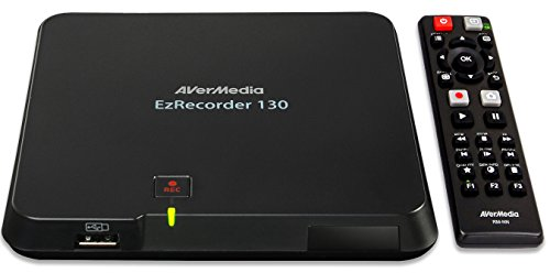 AVerMedia EzRecorder 130 Registratore video digitale HDMI Registrazione TV tempo reale Alta definizione 1080p PVR DVR registrazioni prograate